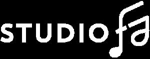 logo studio fa blanc